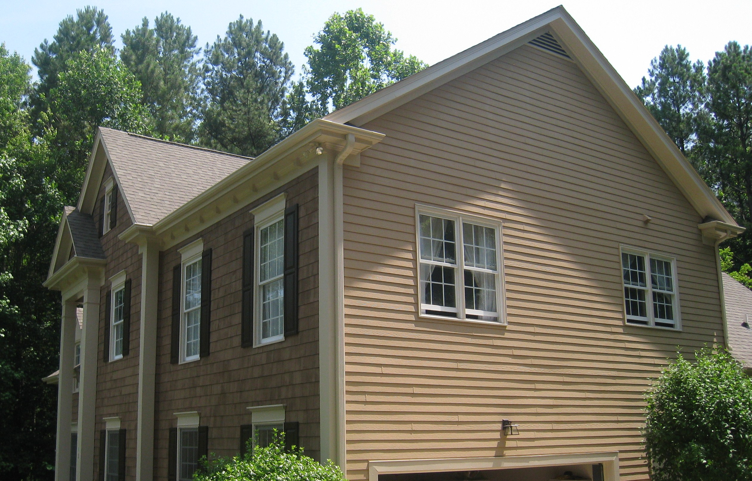 Cedar Shakes and siding after